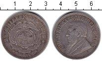 Изображение Монеты ЮАР 2 1/2 шиллинга 1896 Серебро XF