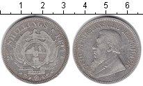 Изображение Монеты ЮАР 2 1/2 шиллинга 1894 Серебро VF Портрет