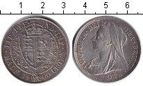 Изображение Монеты Великобритания 1/2 кроны 1900 Серебро XF