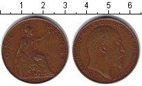 Изображение Монеты Великобритания 1 пенни 1903 Медь XF