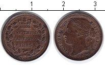 Изображение Монеты Великобритания 1/3 фартинга 1885 Медь XF Виктория.