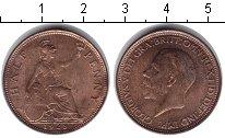Изображение Монеты Великобритания 1/2 пенни 1928 Медь XF
