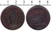Изображение Монеты Ирландия 1 пенни 1934 Медь XF