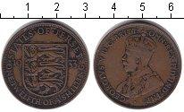 Изображение Монеты Остров Джерси 1/12 шиллинга 1933 Медь XF
