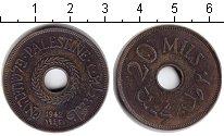 Изображение Монеты Палестина 20 милс 1942 Медь XF