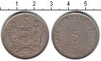 Изображение Монеты Борнео 5 центов 1903 Медно-никель XF