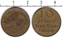 Изображение Монеты Данциг 10 пфеннигов 1932 Медь XF