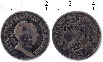 Изображение Монеты Бавария 6 крейцеров 1825 Серебро VF Максимилиан Иосеф