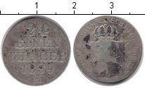 Изображение Монеты Ганновер 1/24 талера 1839 Серебро