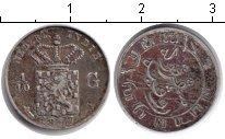 Изображение Монеты Нидерландская Индия 1/10 гульдена 1857 Серебро XF