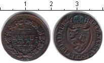 Изображение Монеты Нассау 1/4 крейцера 1814 Медь XF