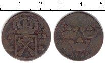 Изображение Монеты Швеция 1 эре 1719 Медь VF