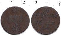 Изображение Монеты Рейсс-Оберграйц 3 пфеннига 1829 Медь VF