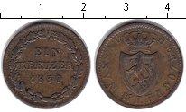 Изображение Монеты Нассау 1 крейцер 1830 Медь VF