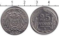 Изображение Монеты Пруссия 25 пфеннигов 1910 Медно-никель XF