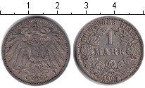 Изображение Монеты Германия 1 марка 1907 Серебро VF