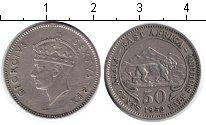 Изображение Монеты Восточная Африка 50 центов 1952 Медно-никель XF