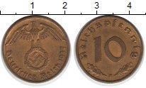 Изображение Монеты Третий Рейх 10 пфеннигов 1937  XF