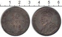 Изображение Монеты Ньюфаундленд 50 центов 1918 Серебро VF