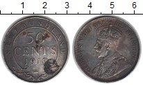 Изображение Монеты Ньюфаундленд 50 центов 1919 Серебро VF
