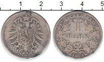 Изображение Монеты Германия 1 марка 1873 Серебро VF