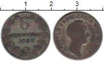 Изображение Монеты Баден 6 крейцеров 1835 Серебро VF Леопольд II