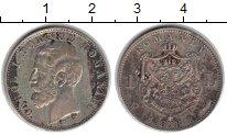 Изображение Монеты Румыния 1 лей 1884 Серебро XF Карол I