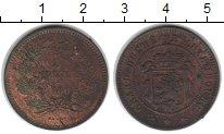 Изображение Монеты Люксембург 5 сантимов 1860 Медь XF