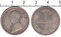 Изображение Монеты Гессен 1/2 гульдена 1838 Серебро VF Людвиг