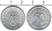 Изображение Монеты Третий Рейх 50 пфеннигов 1940 Цинк XF