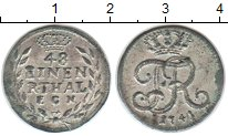 Изображение Монеты Пруссия 1/48 талера 1741 Серебро