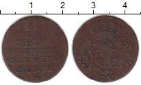 Изображение Монеты Мекленбург-Шверин 3 пфеннига 1753 Медь