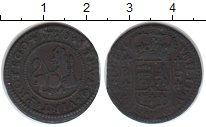 Изображение Монеты Испания 1 мараведе 1720 Медь