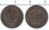 Изображение Монеты Пруссия 1/2 гроша 1847 Серебро VF Фридрих Вильгельм IV
