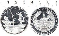 Изображение Монеты Лаос 5000 кип 1998 Серебро Proof- Олимпийские игры в С
