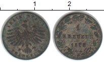 Изображение Монеты Франфуркт 1 крейцер 1857 Серебро VF