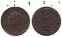 Изображение Монеты Швеция 1 эре 1853 Медь XF Оскар