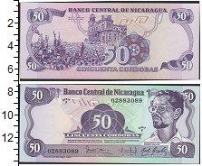 Изображение Боны Никарагуа 50 кордоб 0  UNC-