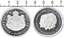 Изображение Монеты Швеция 200 крон 2000 Серебро Proof