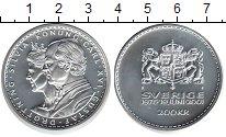 Изображение Монеты Швеция 200 крон 2001 Серебро UNC-