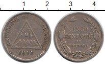 Изображение Монеты Никарагуа 5 сентаво 1914 Медно-никель XF