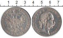 Изображение Монеты Австрия 2 флорина 1876 Серебро XF