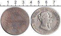 Изображение Монеты Лукка 5 франков 1807 Серебро