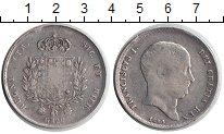 Изображение Монеты Италия Сицилия 120 гран 1823 Серебро