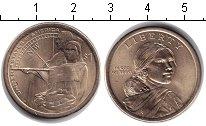 Изображение Мелочь США 1 доллар 2014  UNC- P. Сакагавея ``Помощ