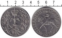 Изображение Монеты Великобритания 25 новых пенсов 1977 Медно-никель UNC-
