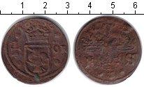 Изображение Монеты Швеция 1/4 эре 1636 Медь