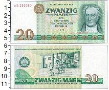 Изображение Банкноты ГДР 20 марок 1975  XF