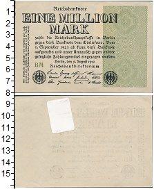 Изображение Боны Веймарская республика 1000000 марок 1923  XF