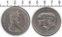 Изображение Монеты Великобритания 25 пенсов 1981 Медно-никель XF